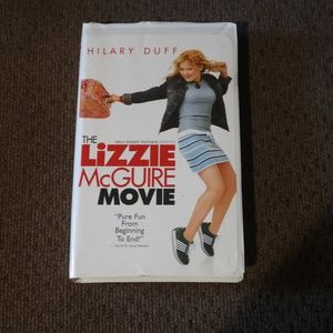 The Lizzie McGuire VHS